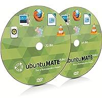 Ubuntu Mate 18.04.1 MATE 32 Bit and 64 Bit Live Bootable Installation DVD