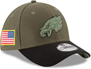 033126c84bbcc New Era Philadelphia Eagles NFL 39THIRTY 2017 Sideline Salute to Service Hat