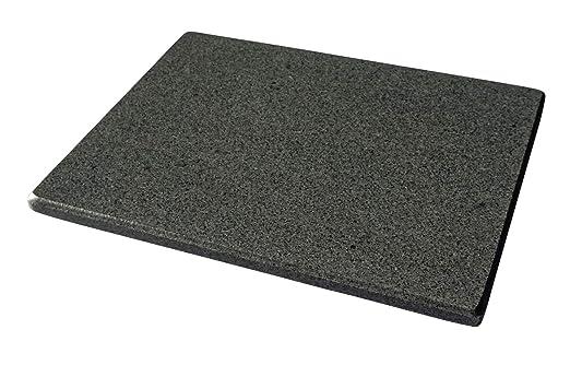 Piedra de granito pulido para hornear pizzas, universal, 38 x 30 x ...