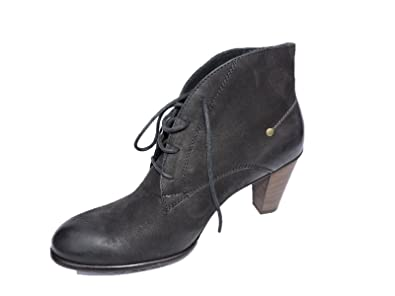 e9fc97d31 Amazon.com | Paul Green Womens Gap Black Leather Ankle Boots 3 ...
