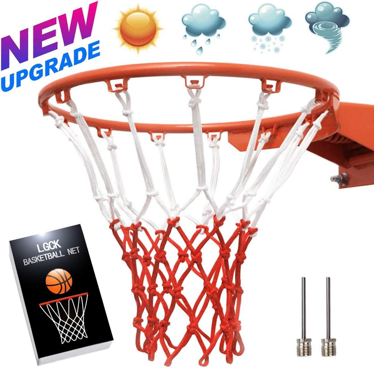 Replacement Basketball Net Glow in the Dark Hoop Goal US Standard Rims HOT
