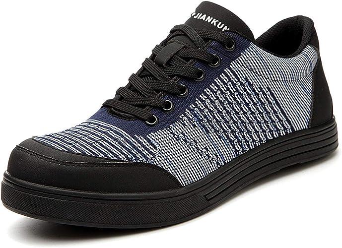 CHNHIRA Chaussure de Sécurité Homme Femme Embout Acier Protection  Anti-Perforation Chaussure de Travail: Amazon.fr: Chaussures et Sacs