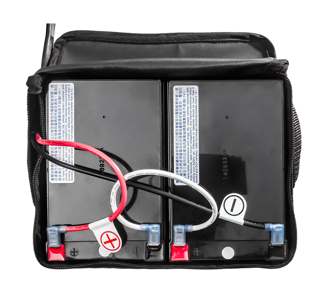FreeRider USA PK90-0202-KL Luggie Classic Lead Acid Battery