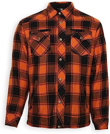 Bores Kevlar Camisa Lumberjack estilo leñador