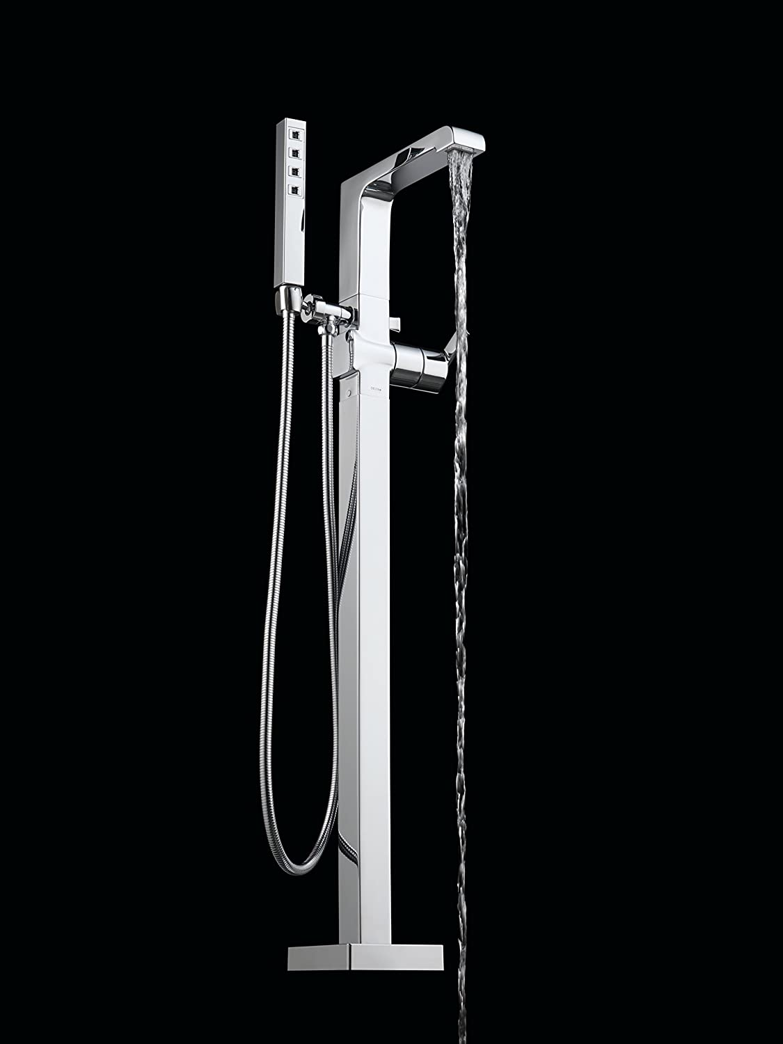 Delta Faucet Delta T4767 Ara Roman Tub Trim with Hand Shower, Chrome ...