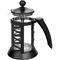 Ncient Cafetera Express Máquinas de Café 1000ml de Estilo Francés Jarra para Café, Té,