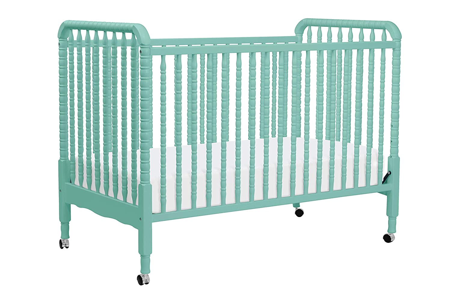 with Toddler Bed Conversion Kit in Lagoon Finish
