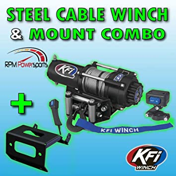 KFI Products Winch Mount Honda Foreman 500 Rubicon 500 420 Rancher 2014-2019