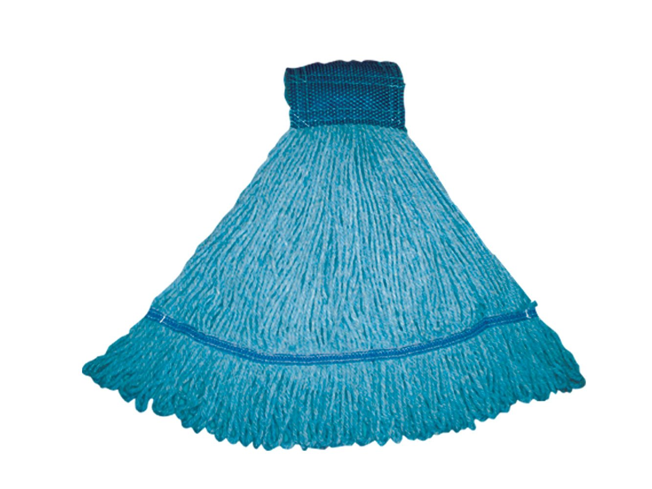 Royce Rolls Premium Blend Loop Mop Medium-Size General Maintenance & Health Care - Blue #3300 Series