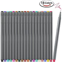iBayam Set 18 Unique Colors Bullet Journal Planner Pens