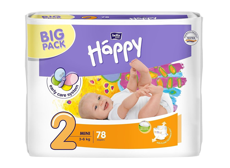 Bella Baby Happy pañales máxima de Plus Tamaño 4 + (9 - 20 kg), 124 unidades: Amazon.es: Salud y cuidado personal