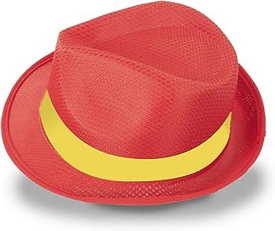 GARGOLA.ES OPERADORES DIGITALES 2 Elegantes Sombreros Premium, Colores Bandera DE ESPAÑA, 12 DE Octubre, Fiesta Nacional: Amazon.es: Ropa y accesorios