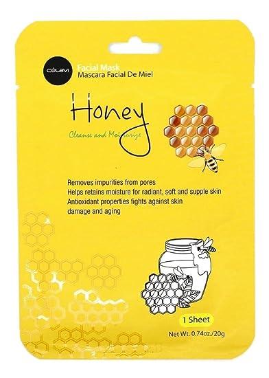 Celavi Essence Facial Mask Paper Sheet Korea Skin Care Moisturizing 12 Pack (Avocado) Fallene Face Cotz Water-Resistant Sun Protection UVA/UVB SPF 40 1.5-Ounce Tube