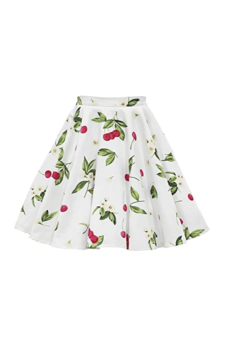 Vintage Style Children's Clothing: Girls, Boys, Baby, Toddler BlackButterfly Kids Vintage 50s Full Circle Girls Swing Skirt $25.99 AT vintagedancer.com