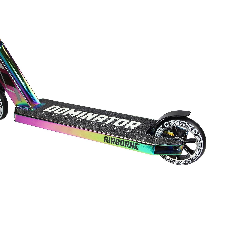 Dominator Mini Airborne Pro Trottinette de couleur chrome ...