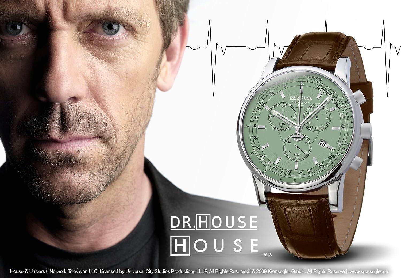 Kronsegler DR.HOUSE Herren Chronograph stahl-pacific