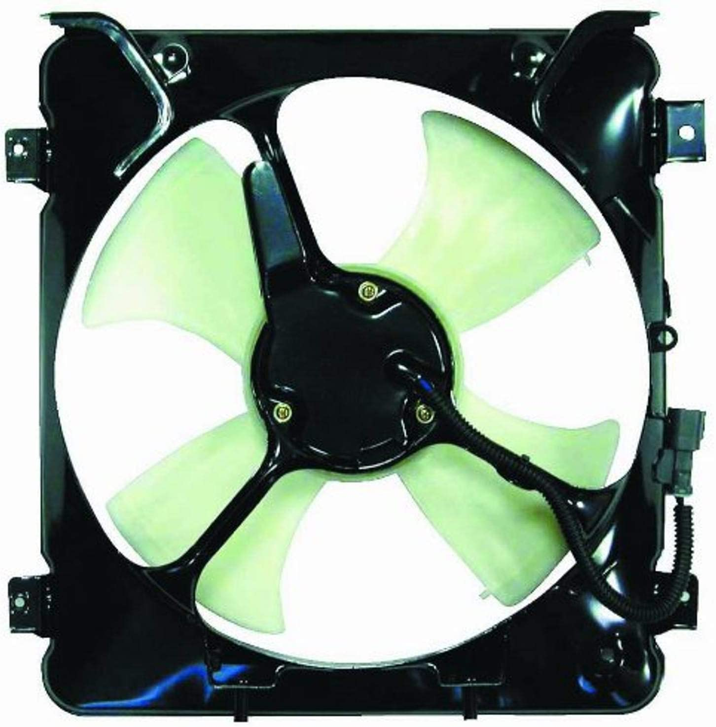 DEPO 317-55006-200 Replacement A/C Condenser Fan Assembly (This product is an aftermarket product. It is not created or sold by the OE car company)