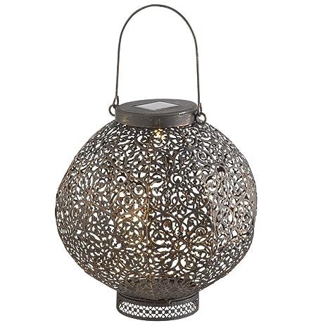 LED Solar Farol, Lámpara de mesa para exterior en el Antiguo ...