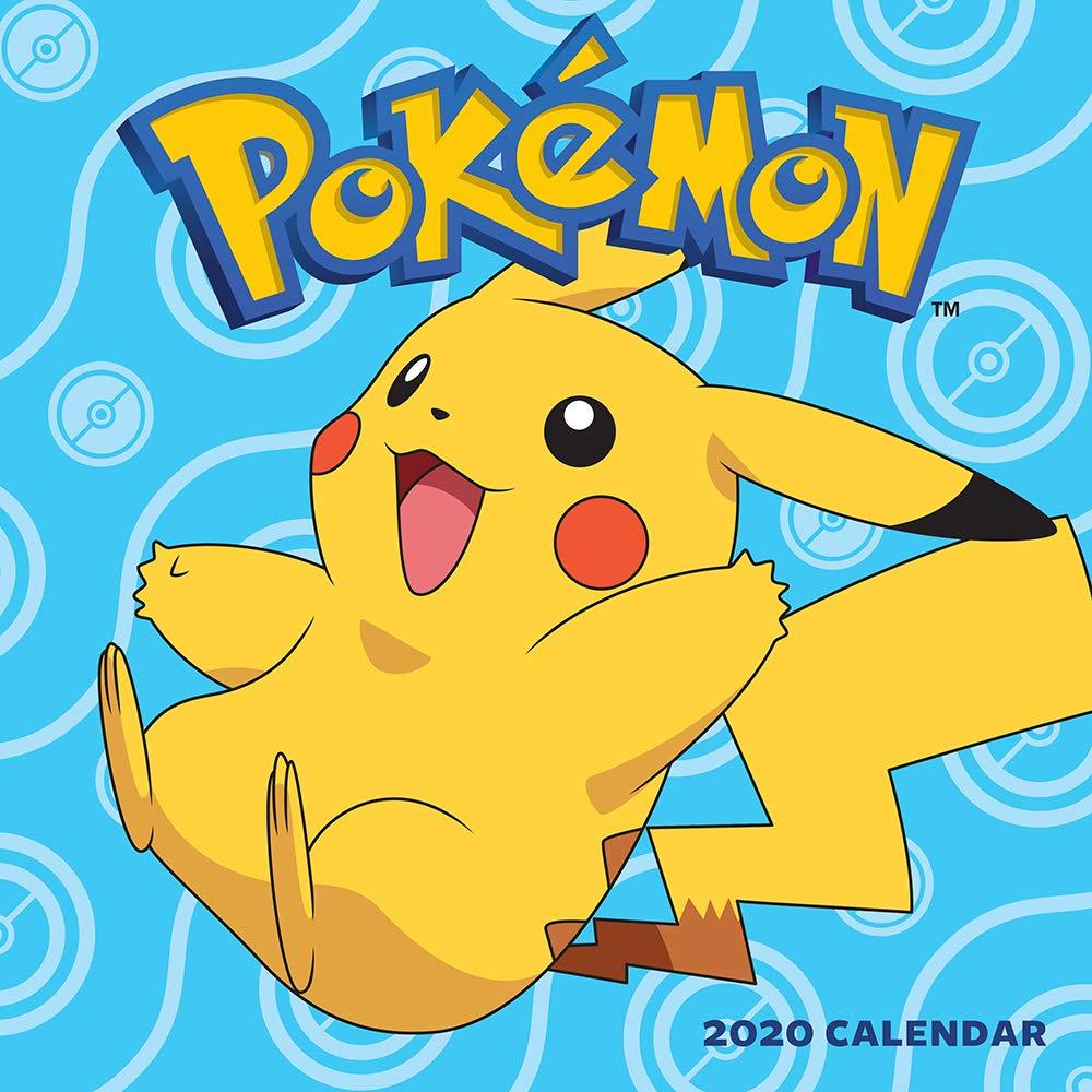 2020 Pokemon Calendar Pokémon 2020 Wall Calendar: Pokémon: 9781419738395: Amazon.com: Books