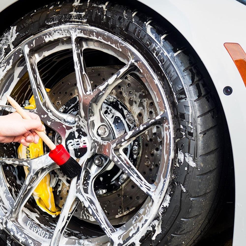 gfjfghfjfh Auto Wheel Bike Tyre Cleaning Brush Maniglia Scrubber Moto Bicicletta Catena Gear Washing Brush Cleaner Tools Accessori