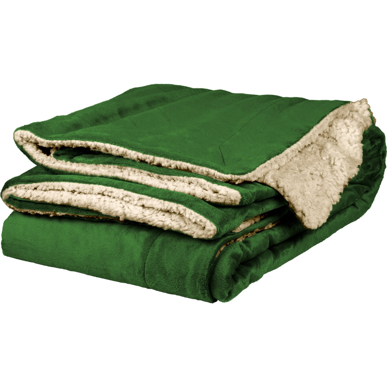 towelsoft Micro Mink Sherpa Throw、50