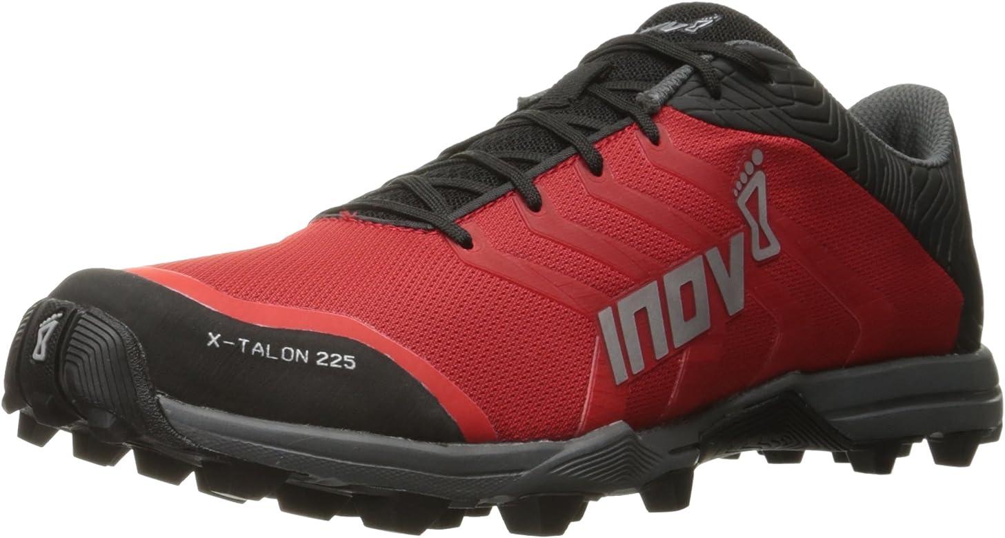 Zapatilla de trail running Inov-8 X-Talon ™ 225. - Variation, M4.0 / W5.5, rojo/negro/gris: Amazon.es: Zapatos y complementos