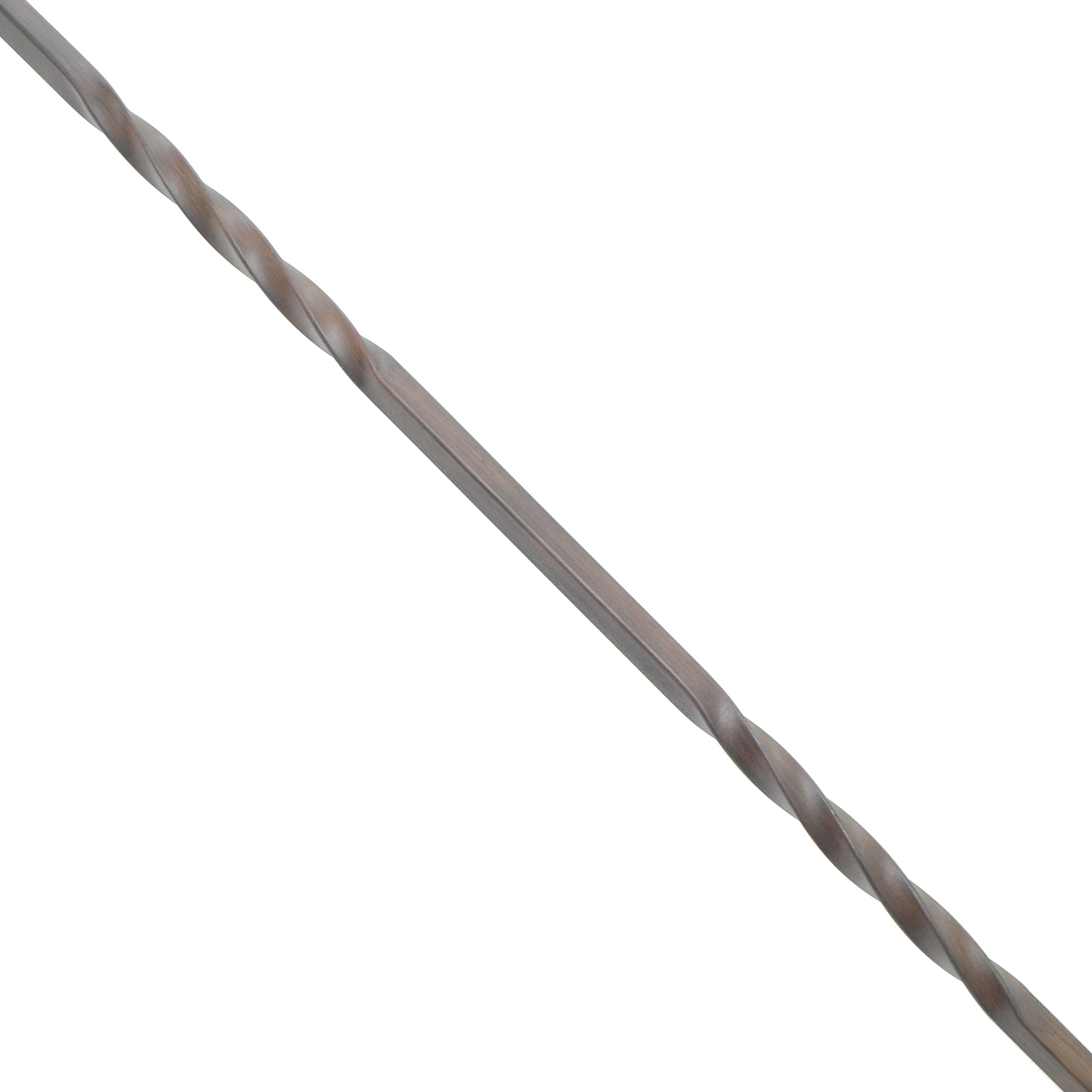 ALEKO BSTR009B Baluster Stair Spindle Supply Double Twist Design 1/2 Inch Oil Rubbed Cast Iron Bronze Finished Lot of 10