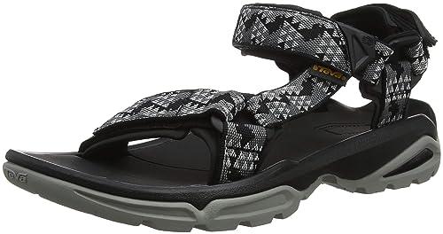 070927f4b6d Teva Men s M Terra Fi 4 Open Toe Sandals  Amazon.co.uk  Shoes   Bags