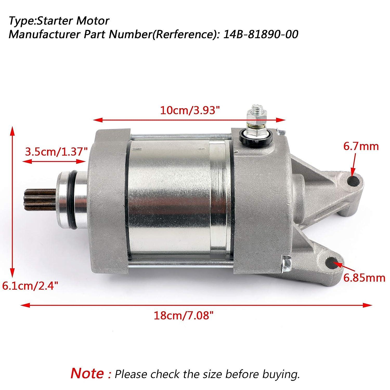 motorino di ricambio per Yamaha YZF R1 R1 2009-2014 14B-81890-00 Artudatech motorino di avviamento motore