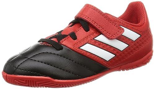 Adidas Ace 17.4 IN J H&L, Zapatillas de fútbol Sala Unisex niño, (Rojo