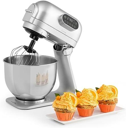 Klarstein Curve Robot de cocina - Mezclador, Pantalla LED, 5 ...