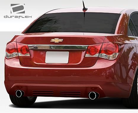 2011 – 2015 Chevrolet Cruze DuraFlex Racer trasera labios con deflector aire Dam – 1 pieza
