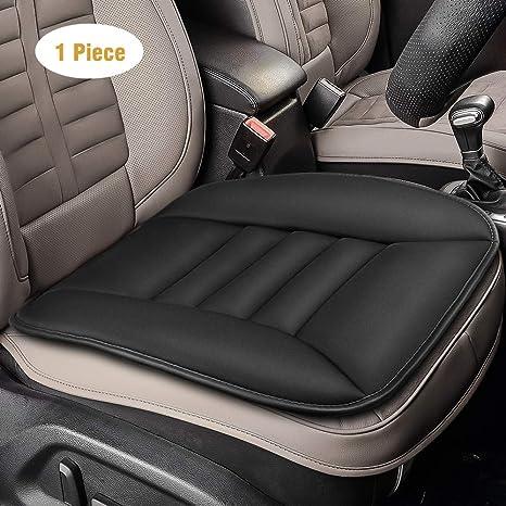 antiscivolo in lino per sedile anteriore e posteriore universale Glitzfas comodo e traspirante Cuscino per sedile auto