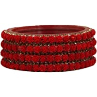 AAYAN Traditional Glass Bangles for Women and Girls