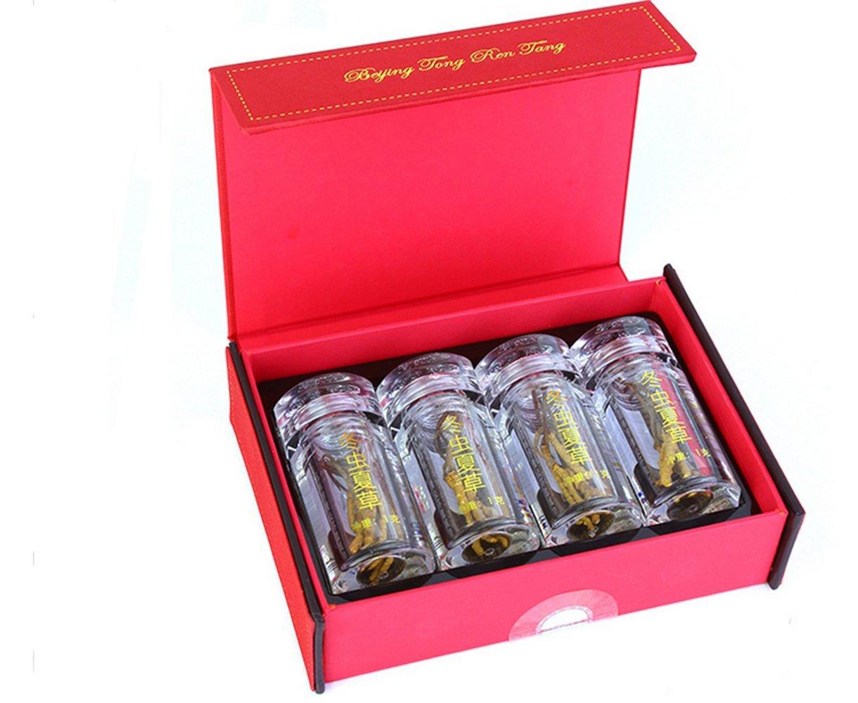 Beijing Tong Ren Tang Authentic Tibet Cordyceps Aweto 冬蟲夏草4g Grade -40
