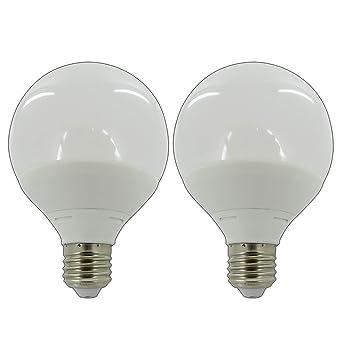 LED 8W E27 Glühbirne Leuchtmittel Birne Lampe Warmweiß Globe bulb leuchte