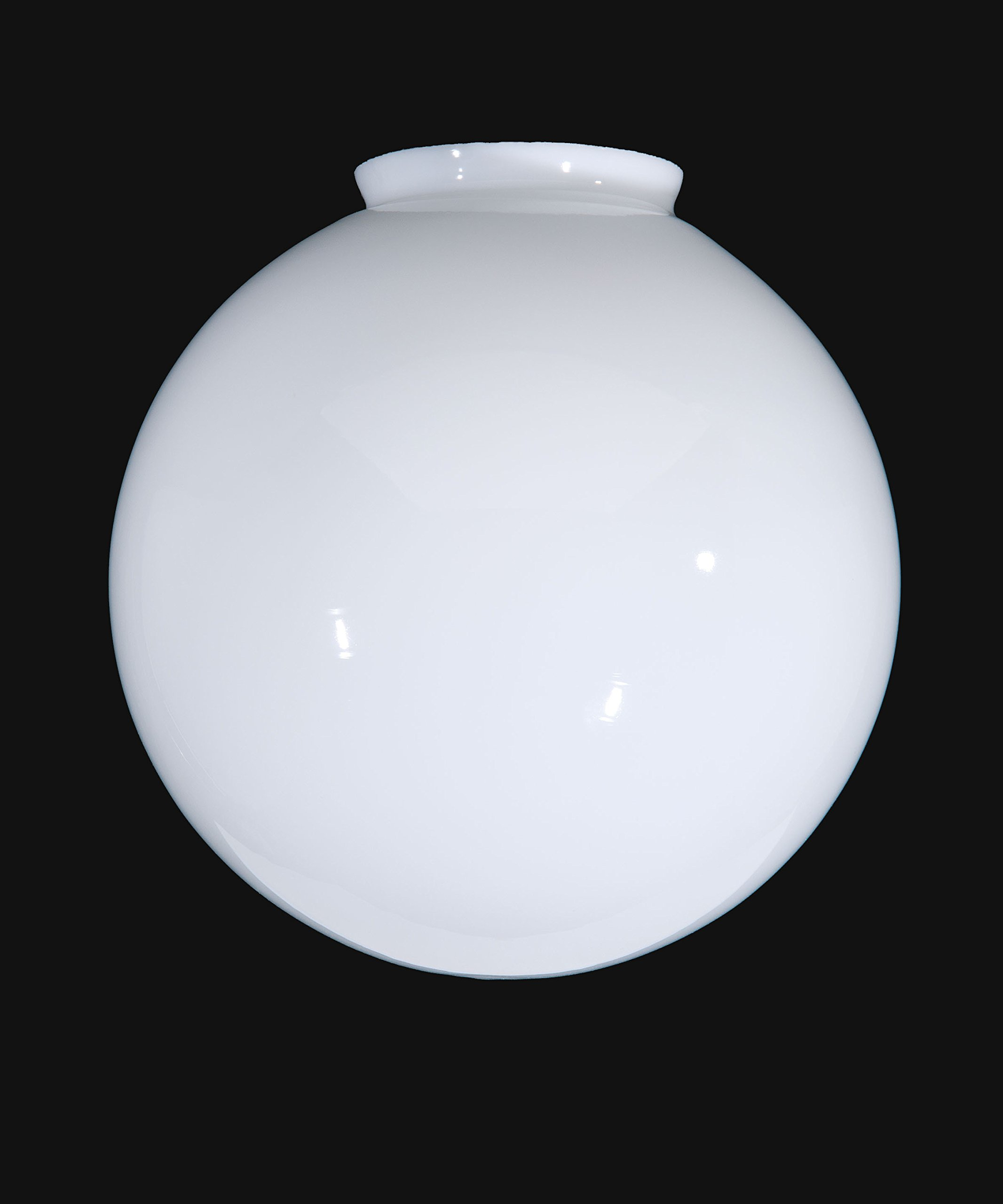 B&P Lamp 14'' Opal Glass Ball Lampshade by B&P Lamp