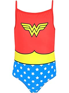 a9bc26d289164 DC Superhero Girls DC Superhero Swimsuit Ages 5 to 12 Years  Amazon ...