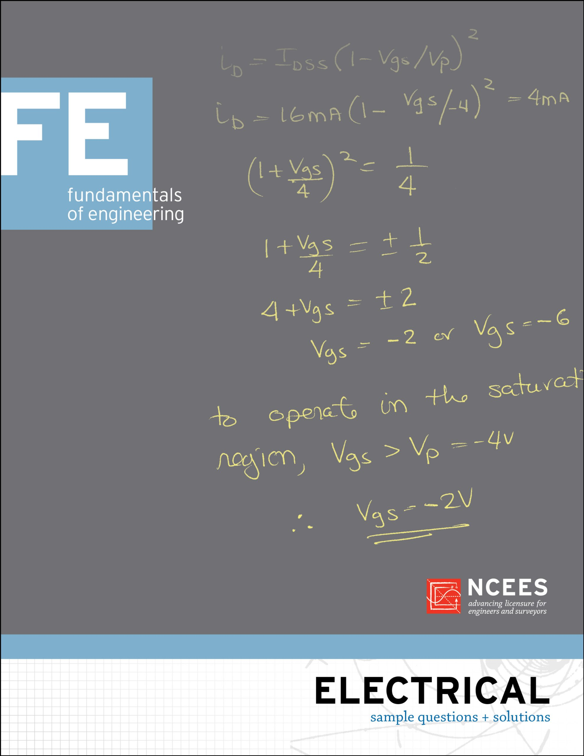 Electrical FE Sample Questions and Solutions: NCEES: 9781932613445:  Amazon.com: Books