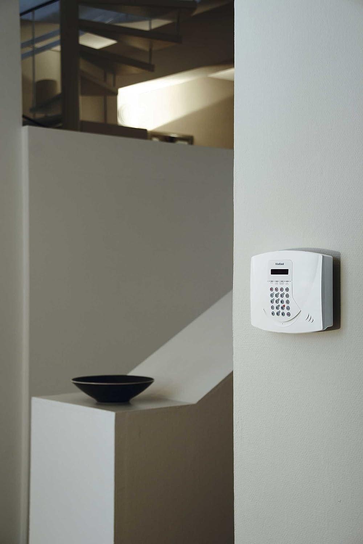 Friedland SL5F - Sistema de alarma con panel de control analógico y pantalla LCD (868 MHz), color blanco: Amazon.es: Bricolaje y herramientas