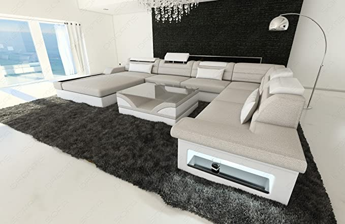 Amazon.com: tela Seccional sofá Monza LED: Kitchen & Dining