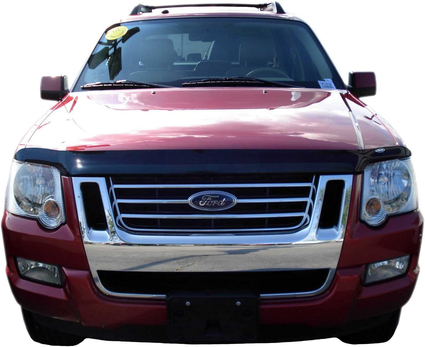 Auto Ventshade 23348 Bugflector Dark Smoke Hood Shield for 2006-2010 Ford Explorer 2007-2010 Sport Trac