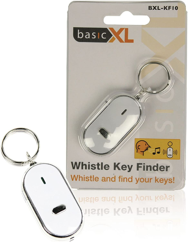 Localizador de llaves de BasicXL, con llavero con pitido