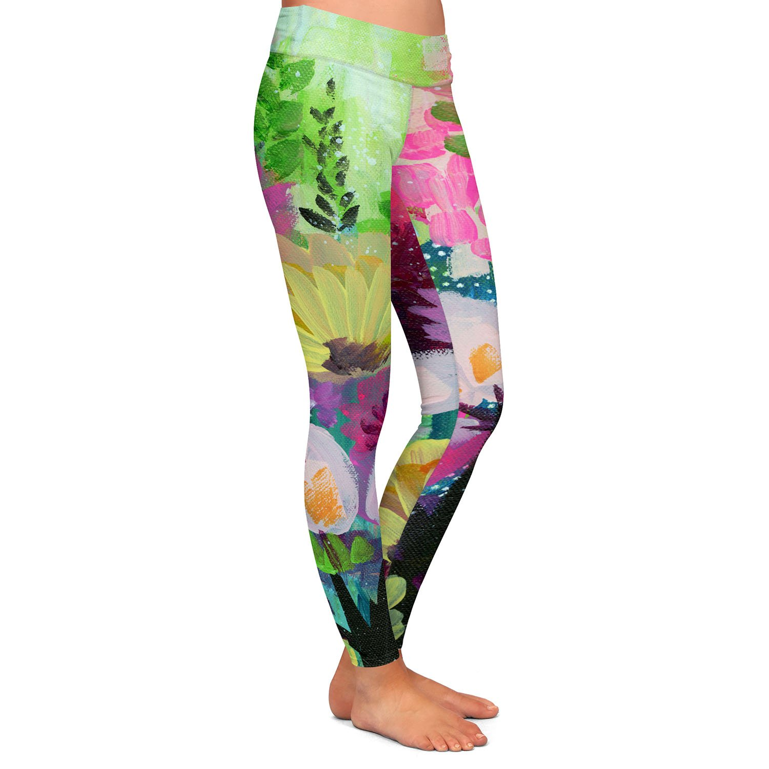 Athletic Yoga Leggings from DiaNoche Designs by Robin Mead Jazmin 2