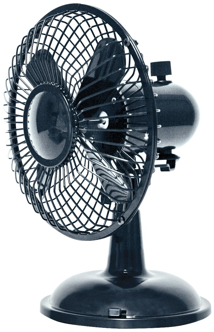Amazon.com: Comfort Zone Oscillating Desk Fan, Black: Home \u0026 Kitchen