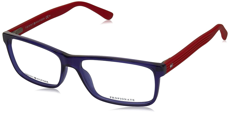 Tommy Hilfiger Hombre TH 1278 FEQ 55 Gafas de sol, Azul ...