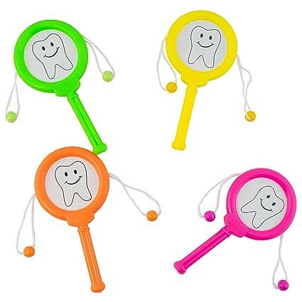Amazon.com: Giggletime juguete Co. Dientes ruido tambor ...