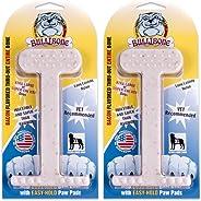 Bullibone Nylon Dog Chew Toy XL Nylon Bone - Improves Dental Hygiene, Easy to Grip Bottom, and Permeated with Flavor