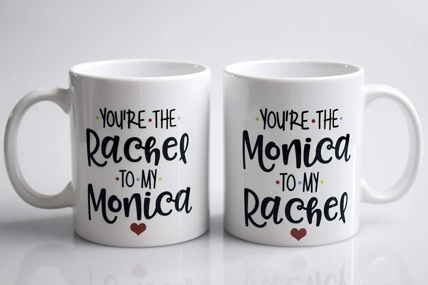 Friends TV Show Picture Frame  you are the monica to my rachel  you are the rachel to my monica
