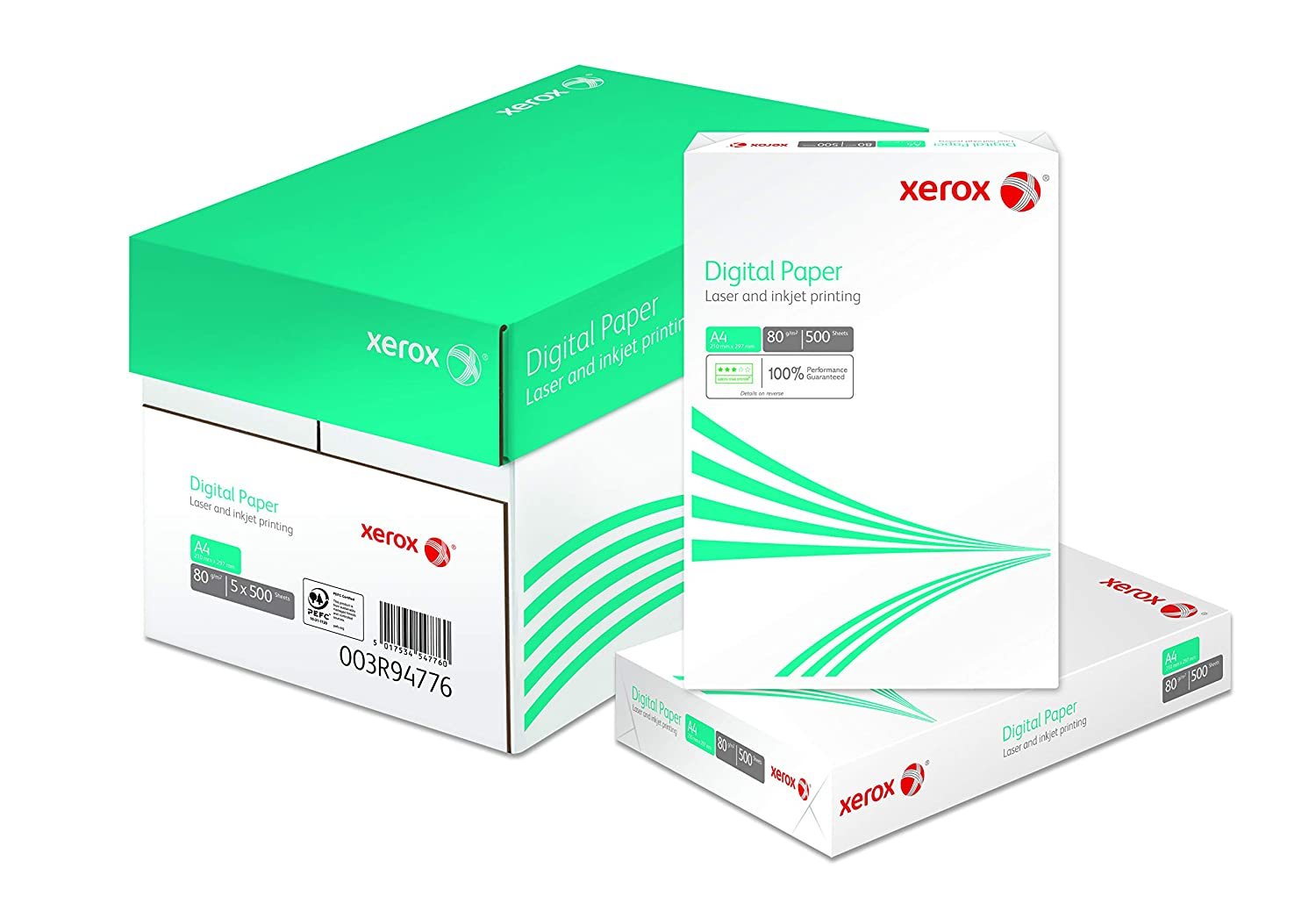 Xerox NCR Paper Digital Laser Carbonless 2-Part White and Yellow Ref 003R99105 [250 Sheets] 513677